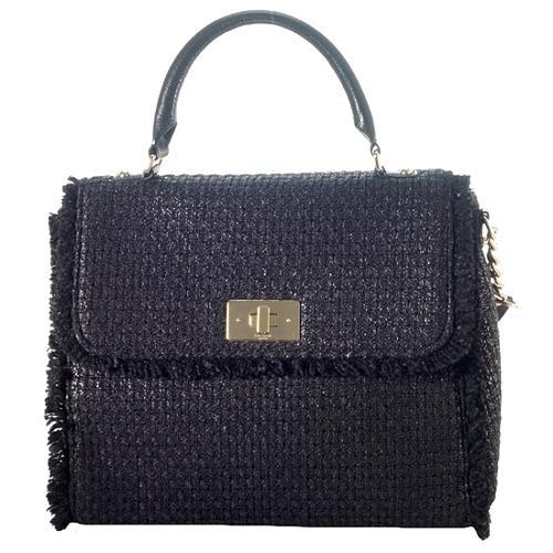 kate spade Tuxedo Hill Tweed Nadine Satchel Handbag