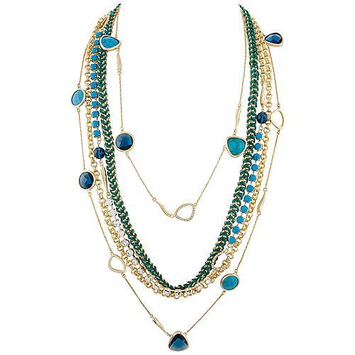 A.B.S. by Allen Schwartz Bora Bora Long Layering Necklaces