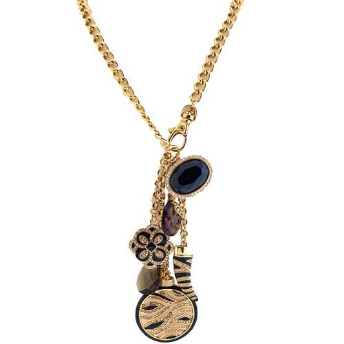 A.B.S. by Allen Schwartz Bow Gone Wild Charm Necklace