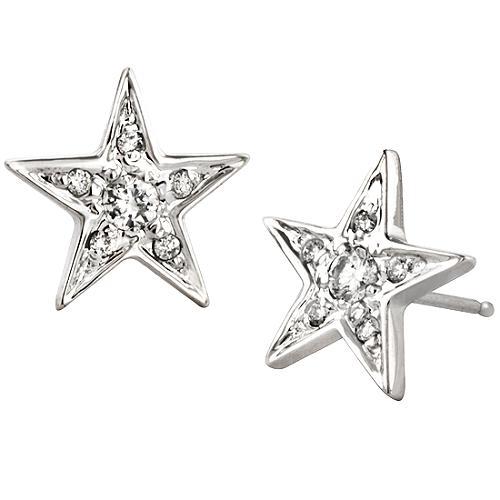 Alex Woo Little Princess Star Earrings
