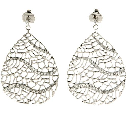 Alex Woo Narissa Pave Earrings