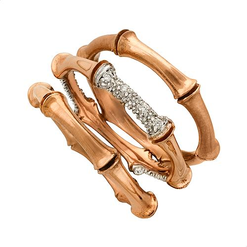 Alex Woo Stackable Rose Gold Rings