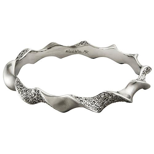 Alex Woo Sweni Horn Bangle Bracelet