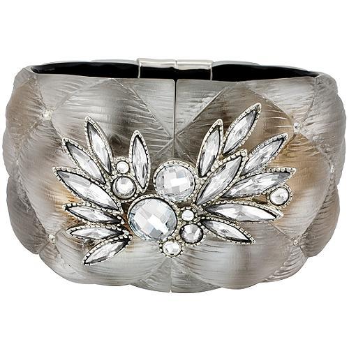 Alexis Bittar Crystal Cushion Hinge Bracelet