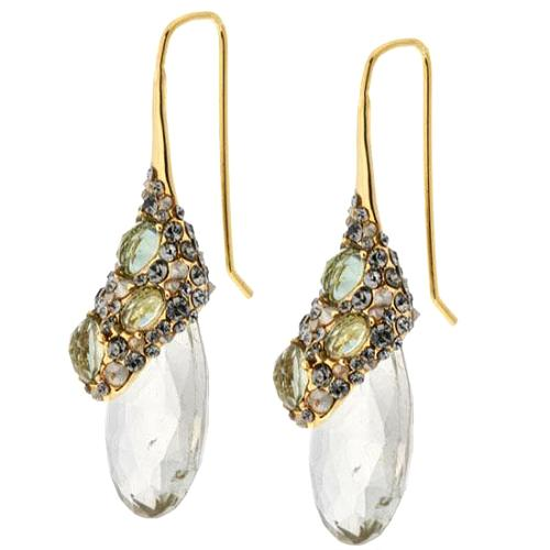 Alexis Bittar Crystal Encrusted Drop Earring