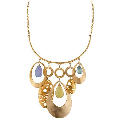 Alexis Bittar Klimt Multi Hoop Necklace