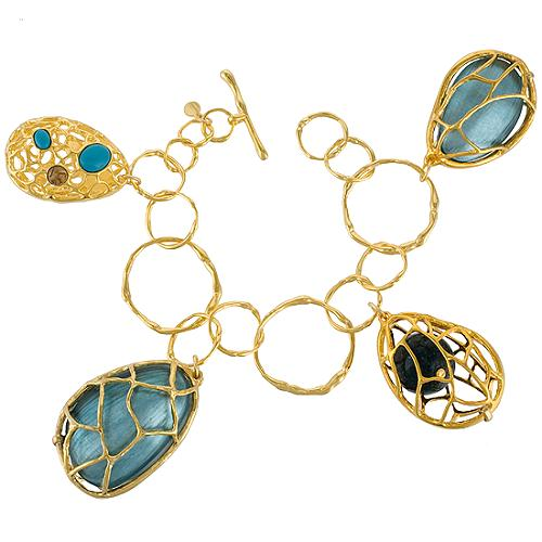 Alexis Bittar Large Charm Bracelet