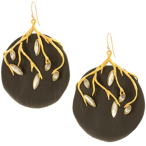Alexis Bittar Large Ivy Earrings