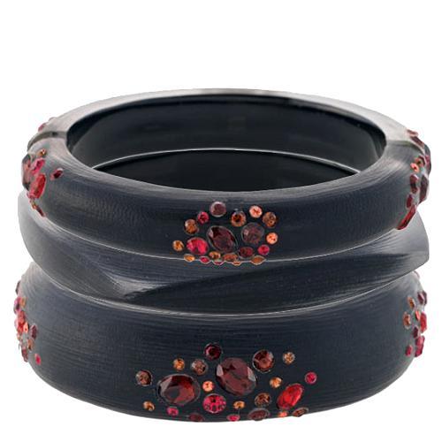 Alexis Bittar Lucite Bangle Bracelet Set