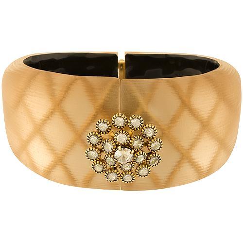 Alexis Bittar Medium Encrusted Reverse Crystal Bracelet