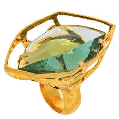 Alexis Bittar Modern Georgian Gold Ring
