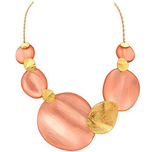 Alexis Bittar Sand Dollar Necklace