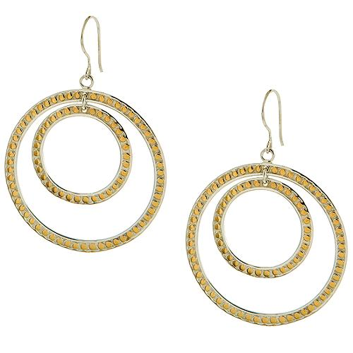 Anna Beck Double Circle Earrings