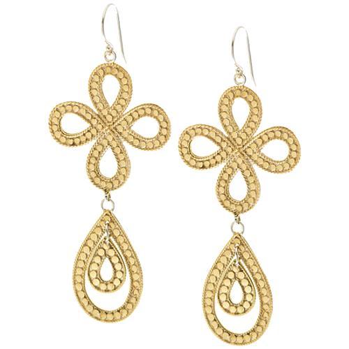 Anna Beck Gold Chandelier Earring