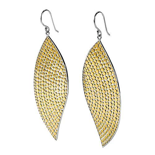 Anna Beck Gold Leaf Earrings