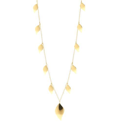 Anna Beck Gold Leaf Necklace
