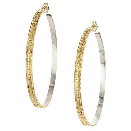 Anna Beck Large Hoop Earrings