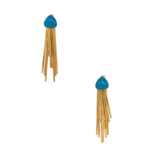 Aurelie Bidermann 18kt Gold Plated Mendoza Earrings