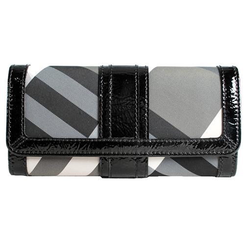 Burberry Beat Check Continental Wallet