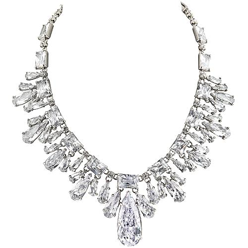 Carolee Lux Front Drama Necklace