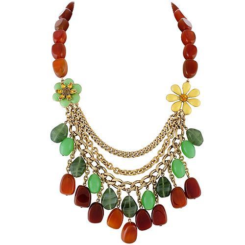 Carolee Lux Island Get Away Statement Necklace