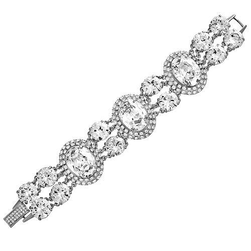 Carolee Lux Oval Stone Bracelet