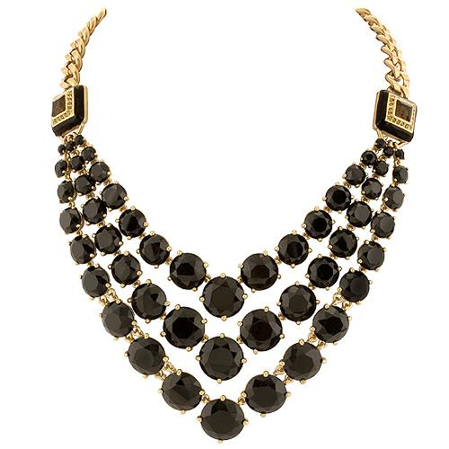 Carolee Lux Triple Row Frontal Necklace