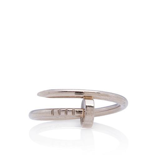 Cartier 18kt White Gold Juste Un Clou Ring - Size 5