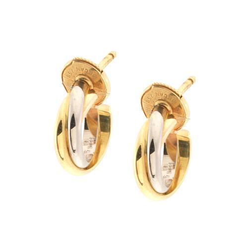 Cartier Trinity Mini Small Hoop Earrings