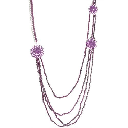 Chan Luu Bordeaux Necklace
