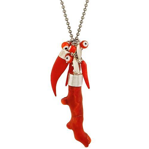 Chan Luu Charm Horn Necklace