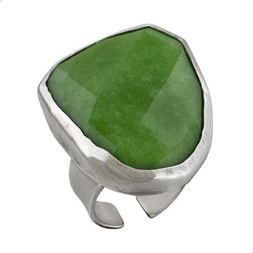 Chan Luu Green Jade Ring