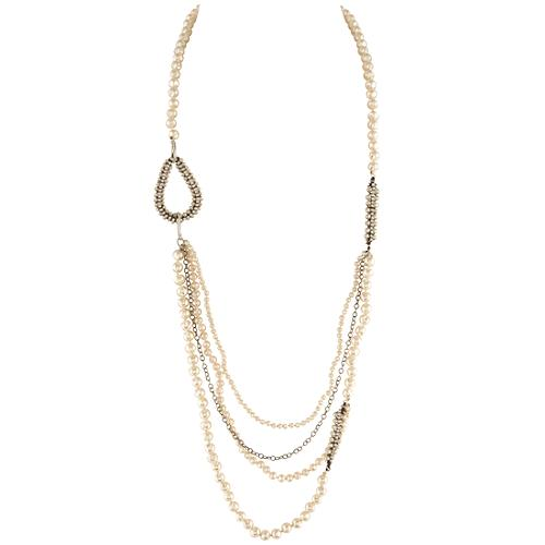 Chan Luu Long Pearl Necklace