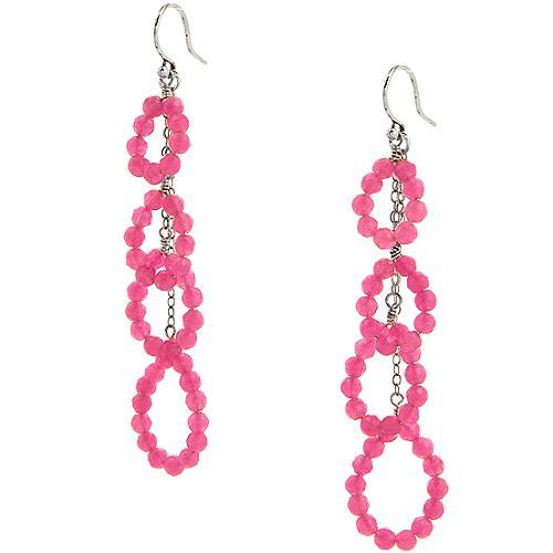 Chan Luu Pink Chandelier Earrings