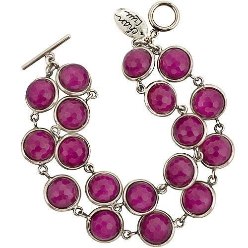 Chan Luu Purple Jade Exclusive Double Strand Bracelet