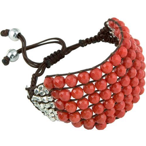 Chan Luu Six Row Beaded Bracelet