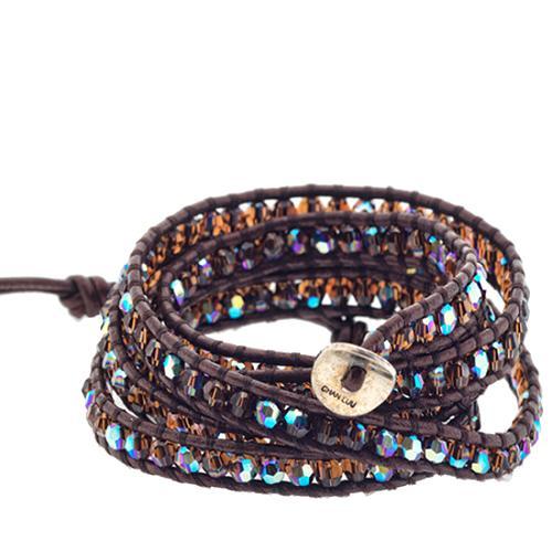 Chan Luu Smokey Topaz Wrap Bracelet