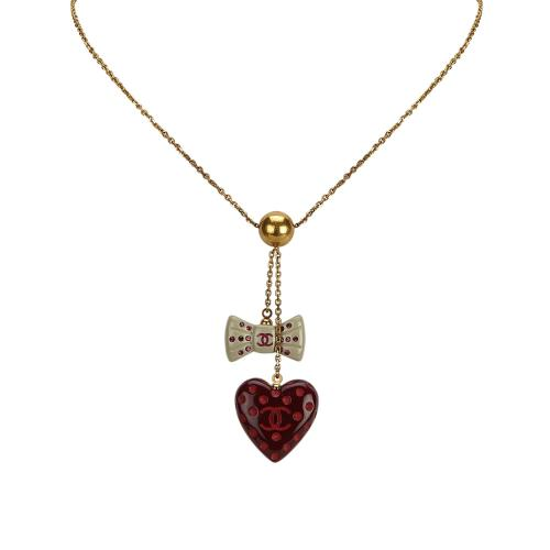 Chanel CC Charms Necklace