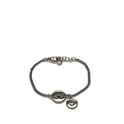 Chanel CC Number 5 Metal Bracelet