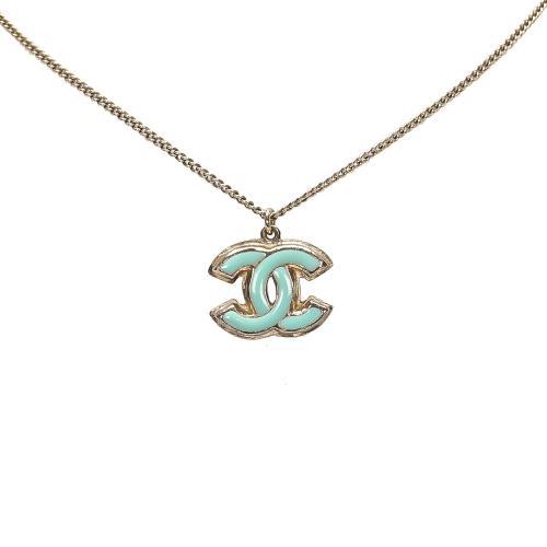 Chanel CC Pendant Neckalce