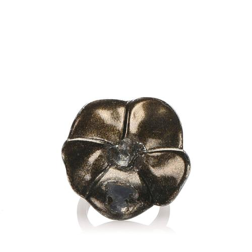 Chanel Camellia Ring - 6 1/2