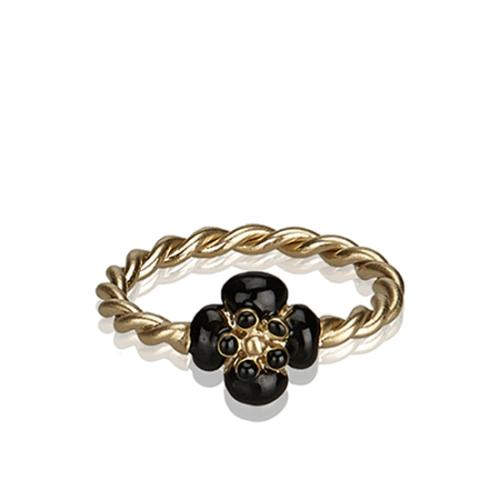 Chanel Camellia Twist Ring - Size 6 1/2 - FINAL SALE
