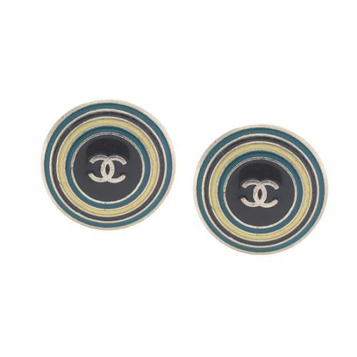 Chanel Circle Earrings