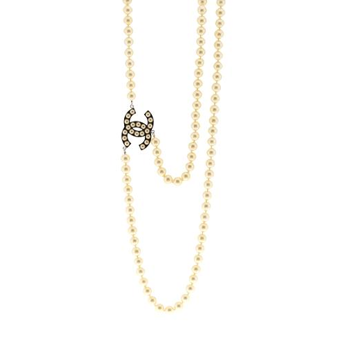 Chanel Classic Pearl 90cm Convertible Belt/Necklace