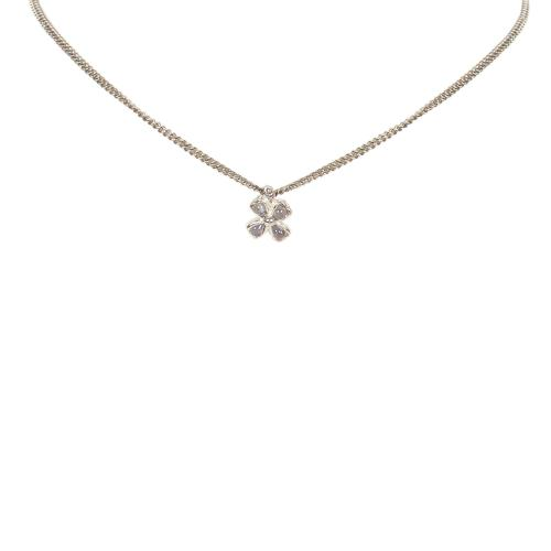 Chanel Clover Necklace