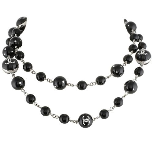 Chanel Crystal Rose Necklace