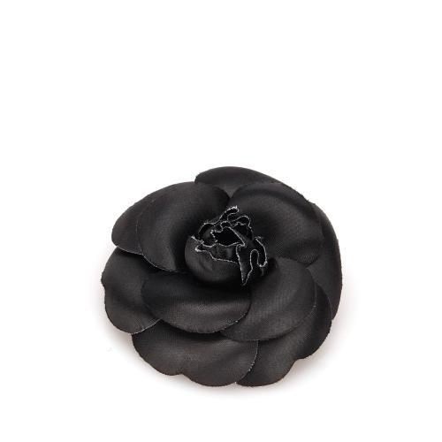 Chanel Fabric Camellia Brooch