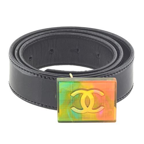 Chanel Iridescent Hologram Belt