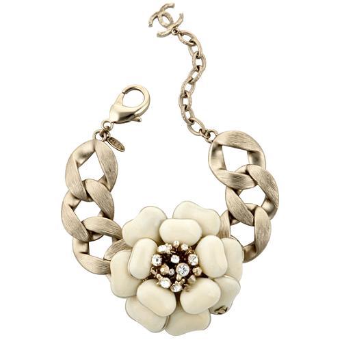 Chanel Large Flower Bracelet