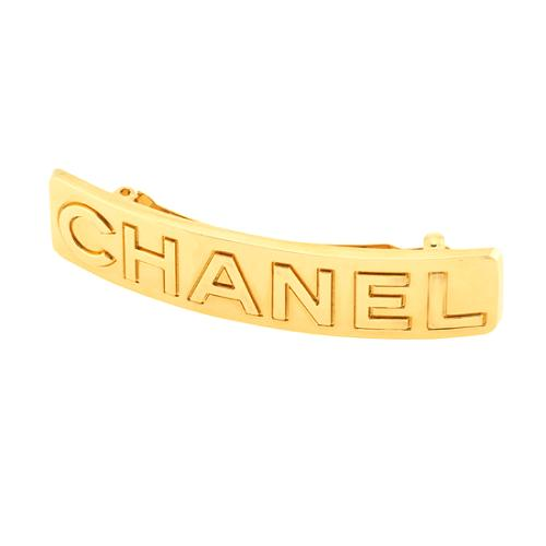 Chanel Logo Hair Clip